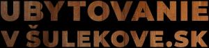 Ubytovanievsulekove.sk