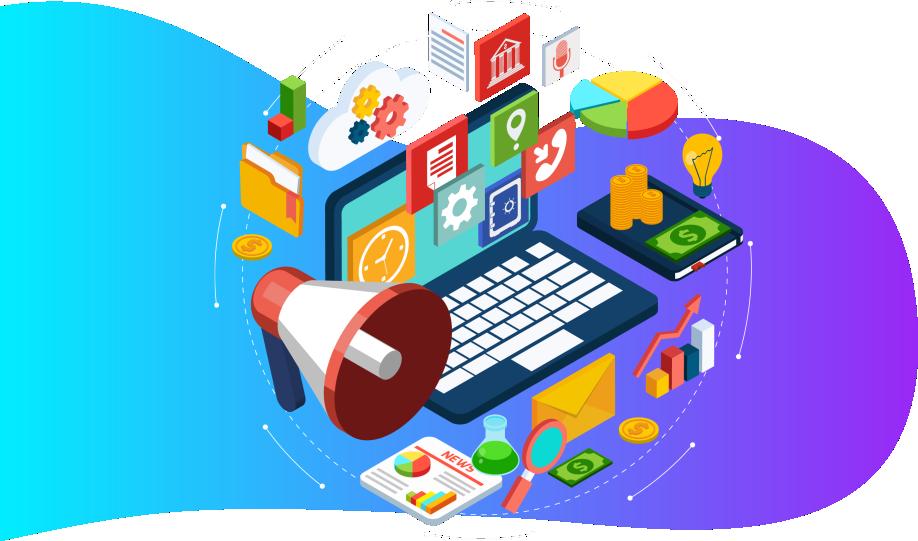 3 layout web marketing